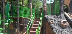 River Legacy's awesome playground.