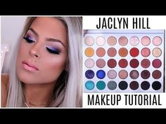 i was so so excited when my jaclyn hill palette came in and i had to play around and do a makeup tutorial with it! this is one of the looks i. Jaclyn Hill Palette, Jacklyn Hill Palette Looks, Jaclyn Hill Eyeshadow Palette, Makeup Tutorial Eyeliner, Contour Makeup, Kiss Makeup, Beauty Makeup, Makeup Tutorials, Makeup Inspo