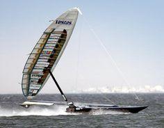 Vestas Sailrocket 2 - New B-class world record, 47.36kn, top speed kn.52.26