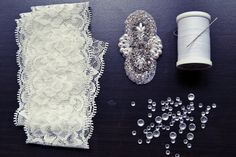 DIY Wedding Garter - Wedding Ideas | Wedding Planning, Ideas & Etiquette | Bridal Guide Magazine