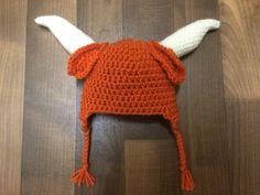 University of Texas Longhorns Beanie Pattern by dejahgatz on Etsy, $4.00