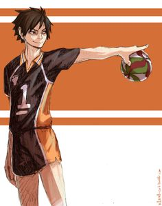 Captain Yamaguchi and his killer serve