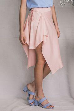 TGB EcoFashion Shop Ara Bamboo Skirt in Rose Quartz Shop here: http://the-great-beyond.com/product/ara-bamboo-skirt-quartz/ | Free Shipping WorldWide Bamboo Clothing