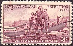 Lewis and Clark on U.S. Postage Stamps | Frances Hunter's American ...