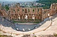 amphitheater, Athens, Greece