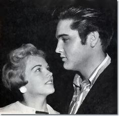 Anita Wood and Elvis Presley