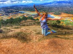 We can also fly  #langbiang #langbiangmountain #dalat #vietnam #travel #traveltheworld #lifestyle #seedifferent #makeawish #makeitreality #behappy #enjoylife #nature #naturelovers by a.l.e.x.travel