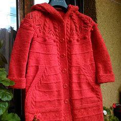 Modelový dívčí kabát s kapucí+ čelenka+ bezprsťáky Men Sweater, Model, Sweaters, Fashion, Breien, Moda, Fashion Styles, Scale Model, Sweater