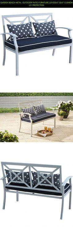 Pillow Perfect Outdoor/Indoor Anchor Allover Arbor Bench Cushion