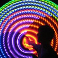 MoodHoops.com - beautiful LED hula hoops for dancing - love mine!