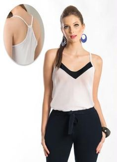 Gostei deste produto do Portal Posthaus! Blusa de Alça com Leve Transparência Date Outfit Casual, Casual Outfits, Mode Top, Moda Chic, Simple Outfits, Trends, Shirt Blouses, Fashion Brands, Ideias Fashion
