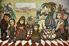Sevada Grigoryan - My Armenia, 2006, 60x90 cm, acrylic on canvas.