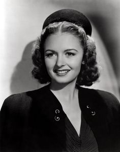 """""""Forty pictures I was in, and all I remember is 'What kind of bra will you be wearing today, honey?' That was always the area of big decision - from the neck to the navel."""" - Donna Reed"""