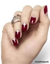 Znalezione obrazy dla zapytania black hybrid nails
