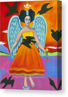 Items similar to Archangel Zadkiel Comes to Calm the Brewing Storm Giclee Framed, Religious Art, Spiritual Art on Etsy Christina Miller, Archangel Zadkiel, Calming The Storm, Spiritual Images, Divine Mother, Black Angels, Time Design, Angel Art, Canvas Prints