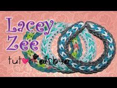 sandylandya@outlook.es  NEW Lacey Zee Rainbow Loom Bracelet Tutorial- Original Design
