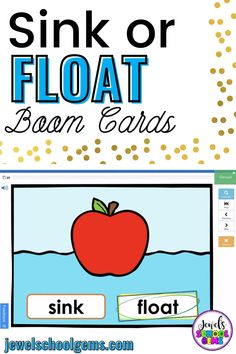 Boom Cards - Looking for resources to assess your Kindergarten or Preschool students' understanding of properties of materials? These colorful Sink or Float Science BOOM Cards™ will do the trick! Included are a link to access 30 Digital Task Cards (1 card per slide) on the BOOM Learning℠ website and Teacher Notes for using these BOOM Cards™ in your classroom. Differentiate between objects that float or sink in no time with this resource. Click to learn more.