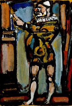 Georges Rouault, 'Vollard As A Clown,' 1939, Indianapolis Museum of Art
