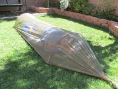 DIY Single Person Mosquito Shelter - Camping in the summertime is supposed to be fun, right? Not when there are pesky mosquitoes biting and buzzing while you are trying to get some rest. Not only do they cut into your sleep time, they can leave you itching for hours the morning after. Why not spend a little prep time with this Single Person Mosquito Shelter so that you can enjoy sleeping in the outdoors.