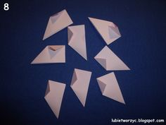 Lubię Tworzyć: Gwiazdka origami