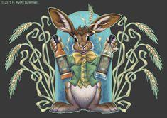 Mad Rabbit Distillery by kyoht.deviantart.com on @DeviantArt