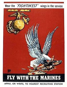 """Tell it to the Marines"" USMC Propaganda Art Once A Marine, My Marine, Us Marine Corps, Ww1 Posters, Ww2 Propaganda Posters, Usmc Recruiting, Usmc Quotes, Quotes Quotes, Joining The Marines"