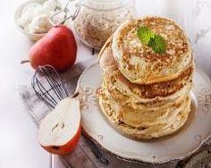 pancakes aux flocons d'avoine de ma grand-mère : http://www.cuisineaz.com/recettes/pancakes-aux-flocons-d-avoine-de-ma-grand-mere-70723.aspx