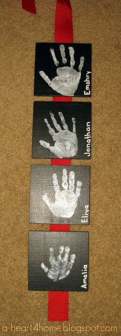 handprints - Click image to find more Kids Pinterest pins