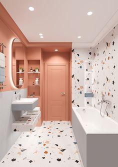 Small Room Design Bedroom, Bedroom Furniture Design, Home Room Design, Dream Home Design, Home Interior Design, Bathroom Design Luxury, Small House Design, Modern Bathroom Design, Bathroom Design Inspiration
