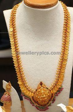 Lakshmi Kasu Haram Wedding jewellery 2014 designs - Latest Jewellery Designs