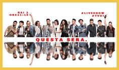 #LiveShow #TVOI #TeamFach #TeamLoser #TeamNoemi #TeamPelù