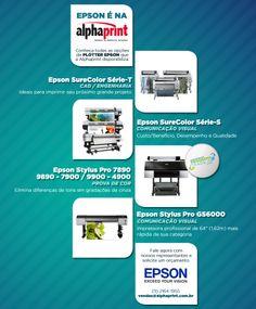 EPSON é na Alphaprint!  #ComunicaçãoVisual #ProvadeCor #CadEngenharia