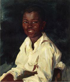 Robert Henri - Sylvester Smiling
