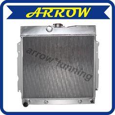 72-86 Jeep CJ Series 3 Core//Row Light Aluminum Performance Cooling Radiator