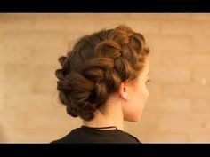 Double Dutch Braid Upstyle in Minutes - YouTube