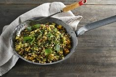 Dani Venn's delicious Spiced Beef Mince Pilaf is a great meal to fill you up this winter.