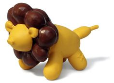 Balloon Jungle Lion // $ 15.99 // In the jungle, the mighty jungle, the lion sleeps tonight! These bright, all-natural latex dog toys are perfect to bounce, squeak and chew, making play time party time! Wellington, New Zealand
