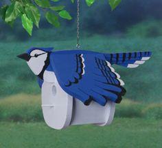 29-W1264BH - Bluejay Birdhouse Woodworking Plan