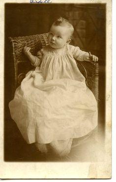 Vintage Baby Photos--Beckoning Baby