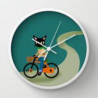 Wall Clocks by BATKEI   Society6
