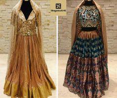 Bespoke opulence!!! Lehengas by Manish Malhotra. Visit Angasutra Hyderabad, India or share your fashion requirements at 040 6530 3100.  #fashion #couture #fashionstyle #style #stylish #fashionable #ootd #weddings #bride #bridal #Indian #marriage #happy #woman #girls #instagram #fashionblogger #festival #jewellery #jewelry #photo #picture #shopping #marketing #entertainment #bollywood #ManishMalhotra