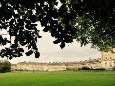 Bath. The Royal Crescent. UK.
