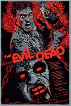 Evil Dead poster by Francesco Francavilla