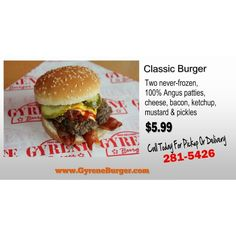 #GyreneClassicBurger ************************************************* Order Online Now ➡️    www.GyreneBurger.com 281-5426   #Happy1stYear #GyreneBurger1stYear #burger #knoxville #burgers #fortsanders #tennessee #cumberland #Gyrene #LocalKnoxvilleEvent  #knoxvillebestburger #gyreneburgerkx #gyreneburger #burgerrestaurant #knoxvilleburgerrestaurant #knoxvilleburger #universityoftennessee #ut #dominospizza #tommonaghan #robwynkoop #visitknoxvilletn #semperfi #semper #fi #HappyHalloween2014…