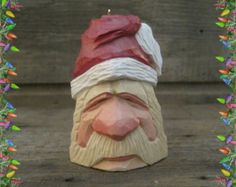 Dont you have an ornament or two that every year you and your children look forward to hanging? This ornament was carved with that moment in mind. He has a whimsical look about him that will surely bring a smile to your face. My hope is that this will be enjoyed for years to come by young and old and will become one of your cherished family heirlooms. A Christmas ornament of Kris Kringle, Pere Noel, Babbo Natale, Sinter Klass or as we know him Santa Claus. Here is a glimpse back during…