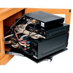 Place your AV Rack anywhere, neatly and hidden away. #av ...