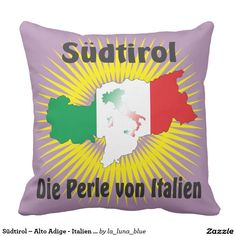 Südtirol – Alto Adige - Italien - Italia Kissen