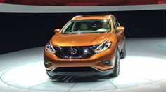 Nissan unveiled its new 2015 Murano in New York, inspired by its futuristic Resonance concept vehicle and NASA technology.