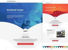 Simple landing page UI design inspiration. Share your designs with us!