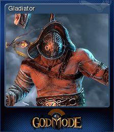 Cromo de Steam «Gladiator» de God Mode